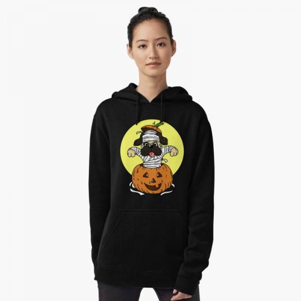 Adorable Halloween Graphic Hoodie: dog lovers themed hoodies