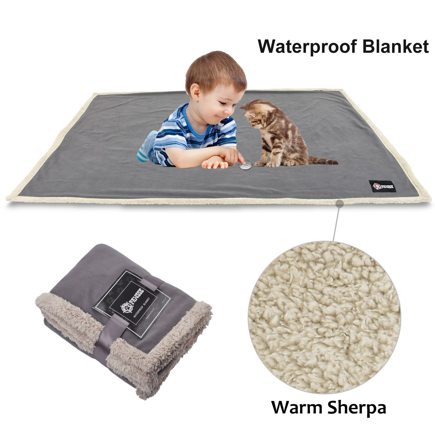 Pawsse Waterproof Dog Blanket