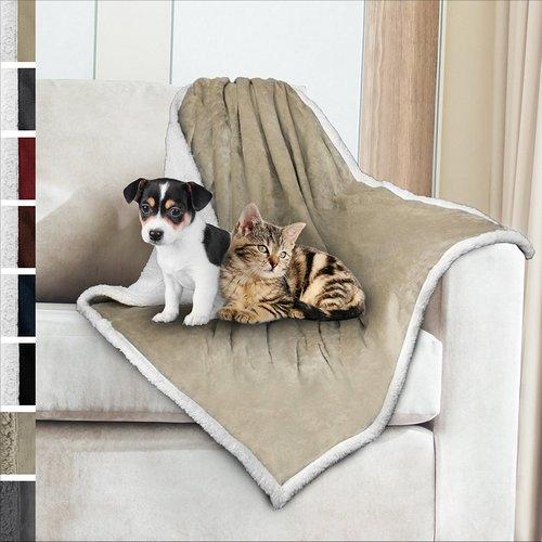 PetAmi Premium Sherpa Dog Blanket
