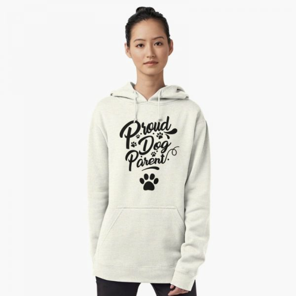 Dog Lover's Sweatshirts: Proud Dog Parent Hoodie