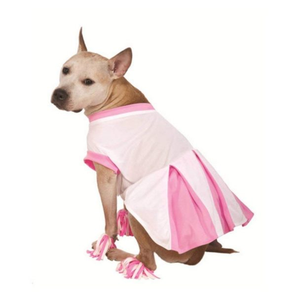 Dress your dog up in this adorable cheerleader outfit!