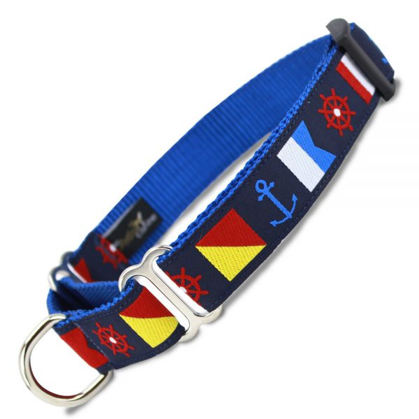 Make your dog seaworthy with this nautical themed collar!