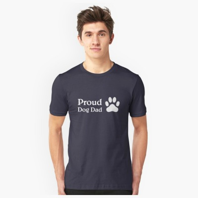 Proud Dog Dad: perfect t-shirt idea for father's day