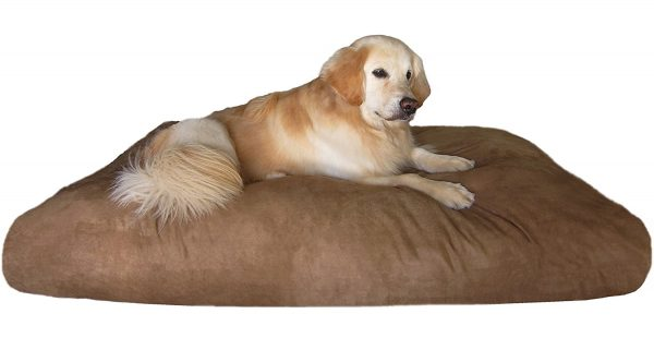 Dogbed4less Orthopedic Shredded Memory Foam Dog Bed