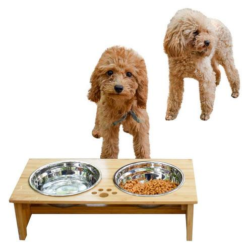 5. FOREYY Raised Pet bowls for Cats and Dogs