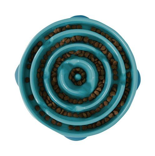 The Outward Hound Fun Feeder Slow Feed Dog Bowl