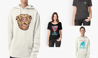 7 Adorable Pit Bull T-Shirts & Hoodies You Need Right Now
