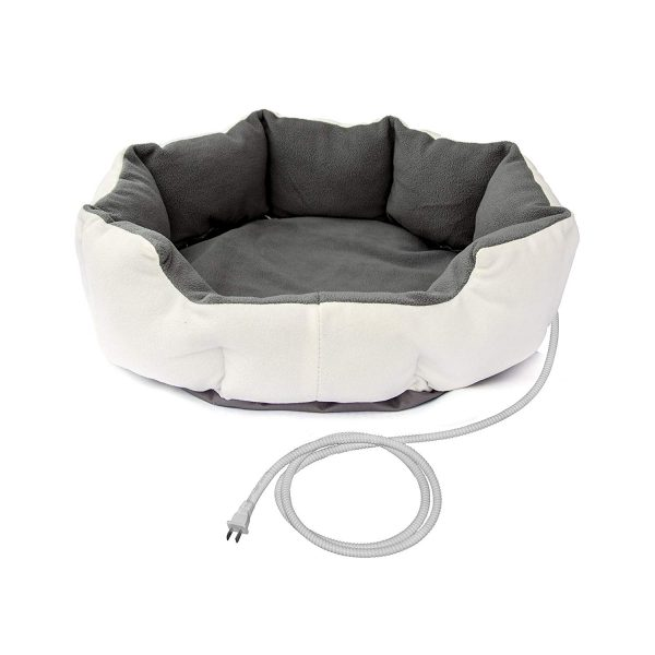 ALEKO PHBED17S Electric Thermo-Pad Heated Pet Bed