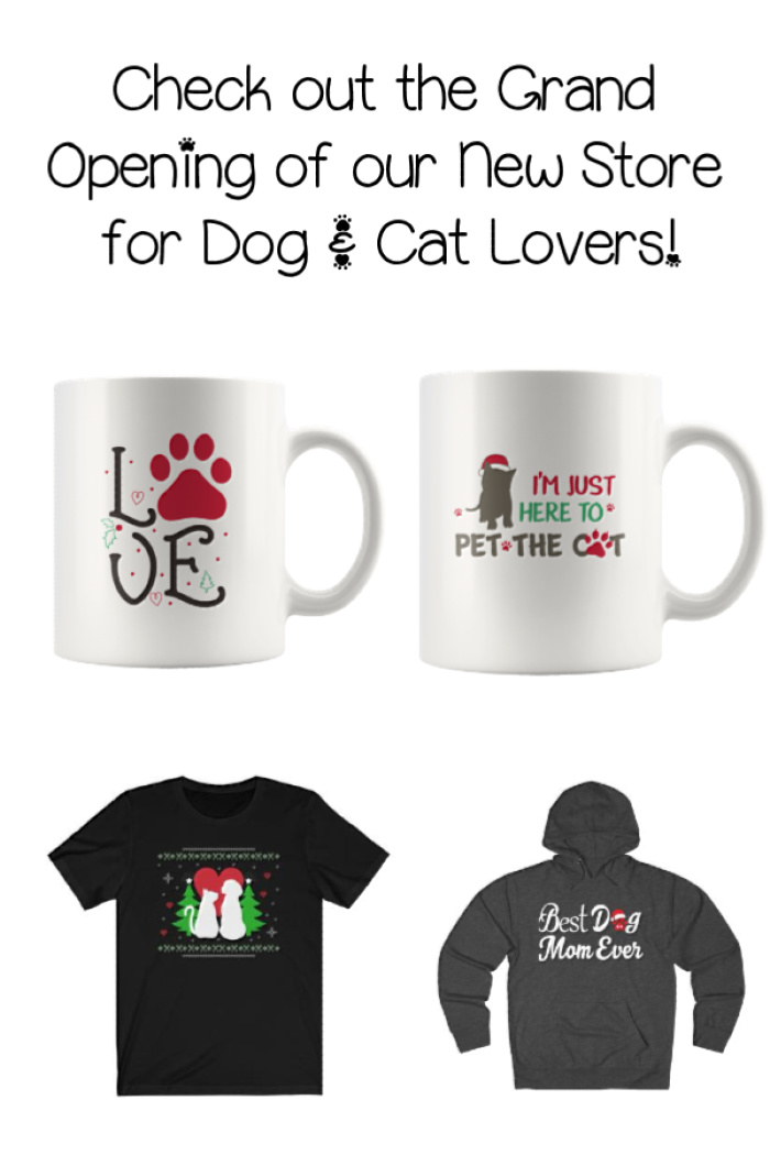 Visit Our NEW Store for Amazing Gift Ideas for Dog Lovers