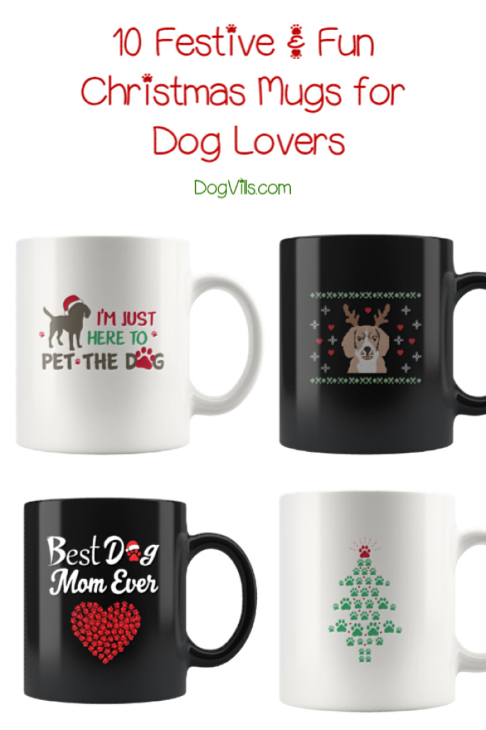 10 Festive Christmas Mugs for Dog Lovers