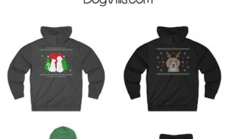Looking for cute shirts and ugly dog lovers Christmas sweaters? You have to see these 10 hoodies! They range from hilarious to sentimental and sweet! Check them out!