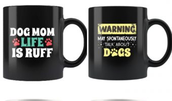 If you're morning needs a little pick-me-up, you definitely need at least one of these adorable dog lover coffee mugs! Check them out!