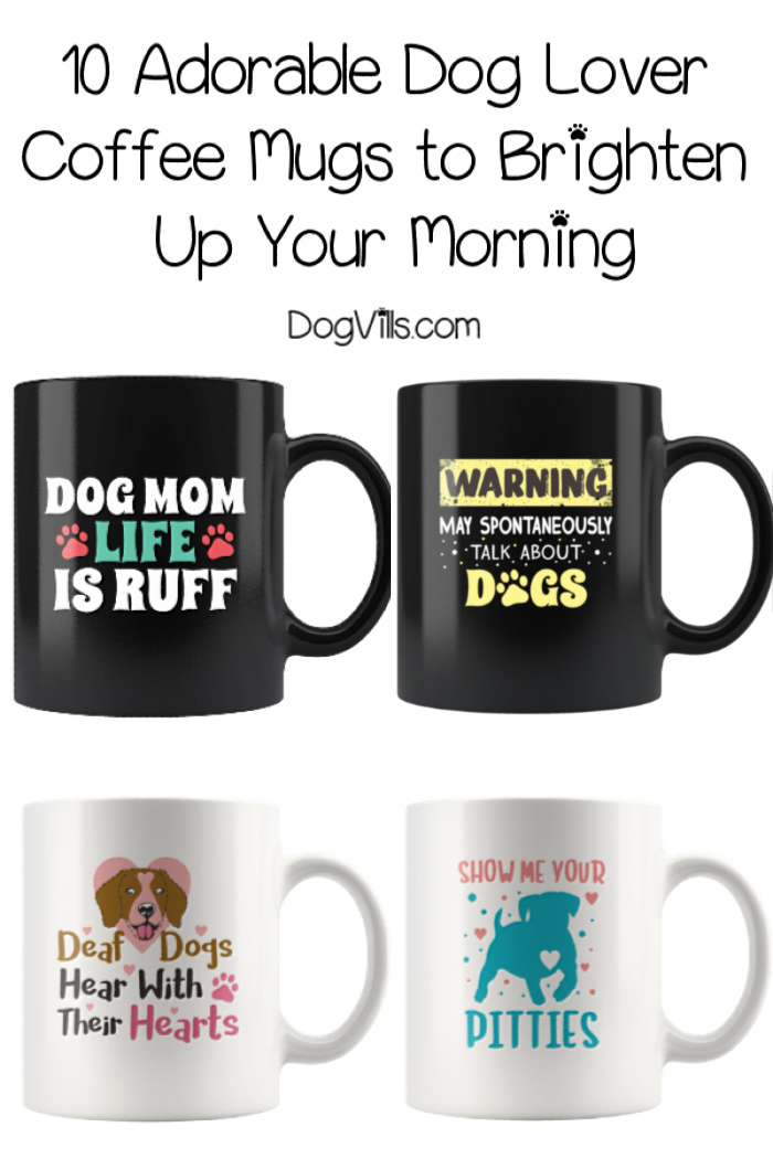 10 Adorable Dog Lover Coffee Mugs to Brighten Up Your Morning