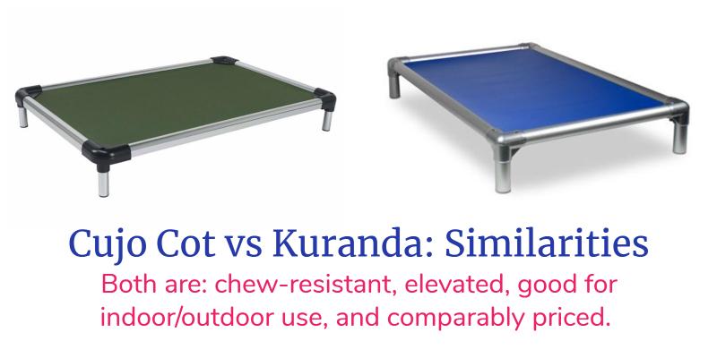 Cujo Cot vs Kuranda: Similarities