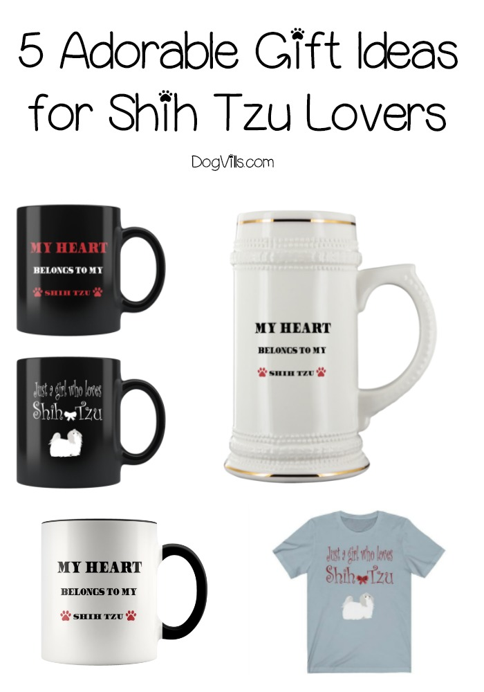 5 Darling Gift Ideas for Shih Tzu Lovers