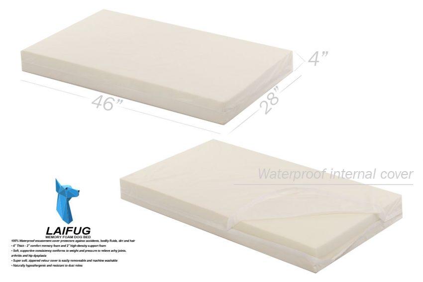 Laifug Orthopedic Memory Foam Dog Bed Review