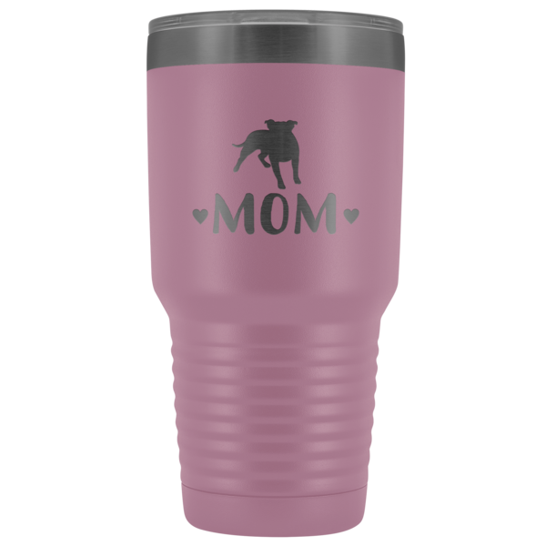 Pitbull Mom 30oz Double Walled Stainless Steel Tumbler