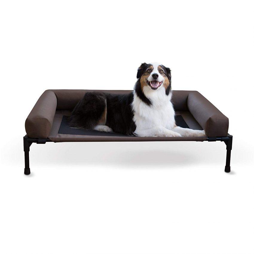 K&H Original Bolster Elevated Pet Bed