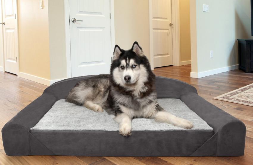 FurHaven Orthopedic Luxury Edition Dog Bed