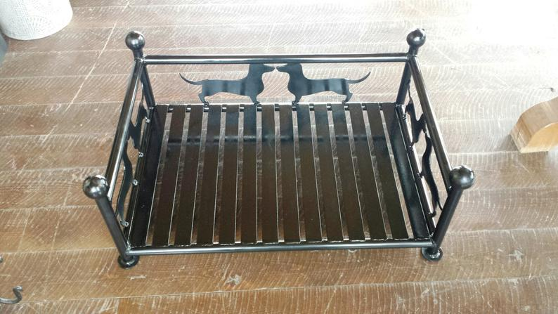 Custom Metal Dachshund Dog Pet Bed