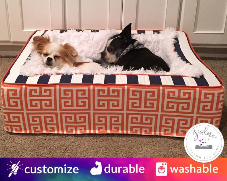 Washable Custom Dog Bed