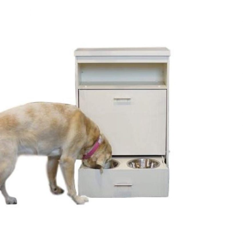 GT Wooden Dog Food Storage Container All in One Pet Feeder Station Pet Food Storage Side Cabinet & Ebook by Easy2Find.
