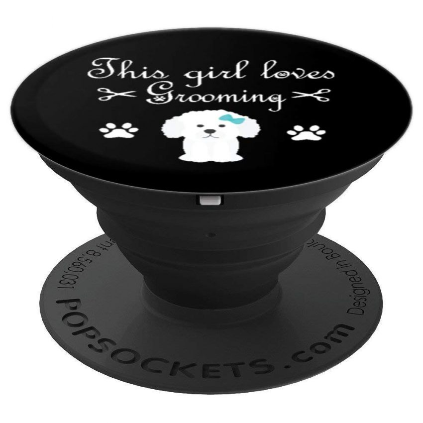 This Girl Loves Grooming Funny Dog Groomer Gift