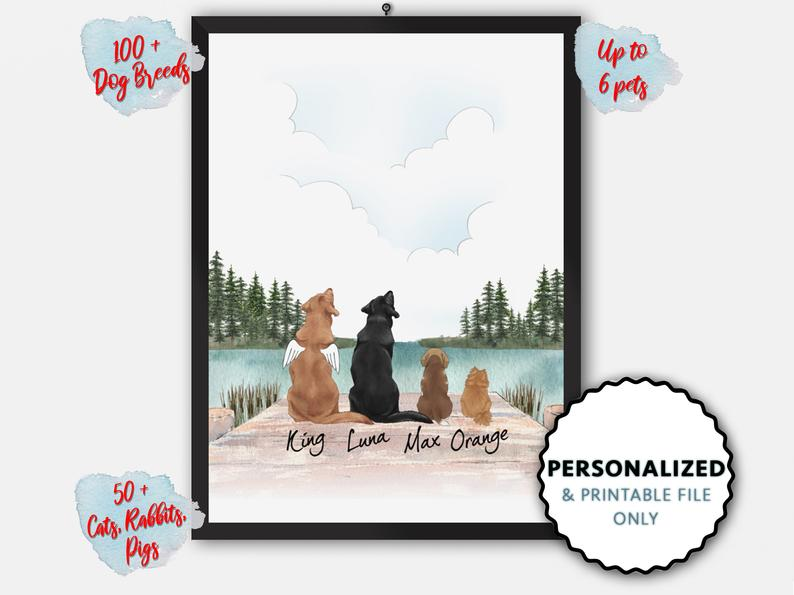 Personalized Dog Portrait