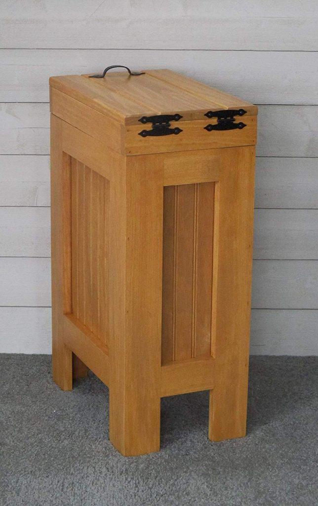 Wooden Dog Food Storage